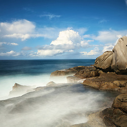 North Curl Curl has some magical rock formations. This is just one of them. Situated on the Northern Beaches of Sydney.