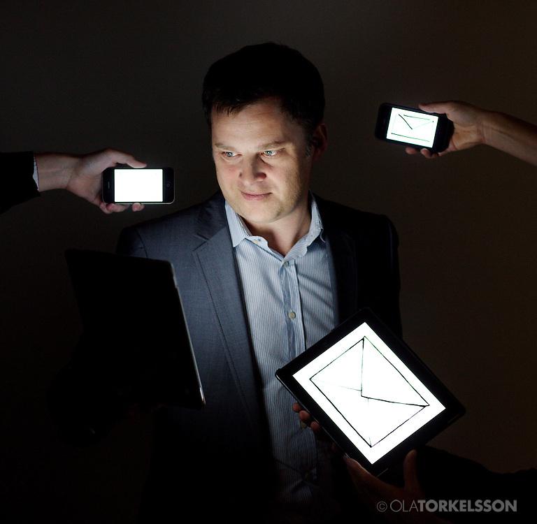 Anders Frankel, CEO Apsis.<br /> Photo Ola Torkelsson