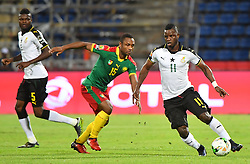Ghana 's Mubarak during the 2017 Africa Cup of Nations (CAN) Demi Finale match Cameroun vs Ghana held at Stade de Franceville in Franceville Gabon on Fevrier 2, 2017. Photos by Christian Liewig/ABACAPRESS.COM