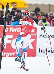 10.03.2010, Kandahar Strecke Herren, Garmisch Partenkirchen, GER, FIS Worldcup Alpin Ski, Garmisch, Men Downhill, im Bild 10.03.2010, Kandahar Strecke Herren, Garmisch Partenkirchen, GER, FIS Worldcup Alpin Ski, Garmisch, Men Downhill, im Bild Abfahrts Weltcupsieger Cuche Didier, ( SUI, #17 ), Ski Head, EXPA Pictures © 2010, PhotoCredit: EXPA/ J. Groder / SPORTIDA PHOTO AGENCY