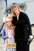 Prinsjesdag 2014 - Aankomst Politici op het Binnenhof.<br /> <br /> Op de foto:  Tweede Kamerlid Madeleine van Toorenburg