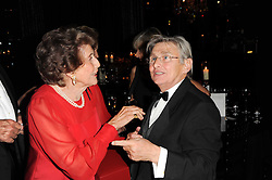 Cristina Patino and WILLIE CARSON at the 20th annual Cartier Racing Awards - the most prestigious award ceremony within European horseracing, held at The Dorchester Hotel, Park Lane, London on 16th November 2010.