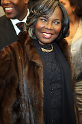 """7 January-NY, NY - Valetta Wallace at The Notorious premiere held at AMC Lincoln Square on January 7, 2009 in New York City. Photo Credit: Terrence Jennings/Sipa Press..Notorious charts the remarkable rise of Christopher """" The Notorious B.i.G """"-who in just a few short years, shot from the tough streets of Brooklyn to the heights of hip-hop legend."""