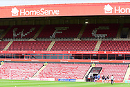 General view before the EFL Cup match between Walsall and Sheffield Wednesday at the Banks's Stadium, Walsall, England on 5 September 2020.