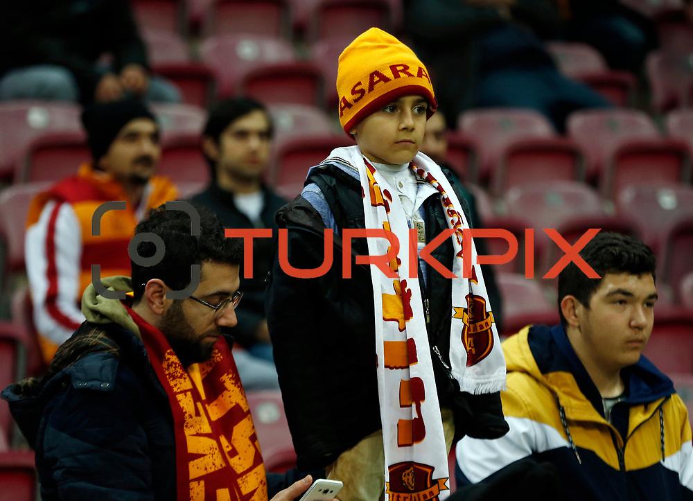 Galatasaray's supporters during their Turkish Super League soccer match Galatasaray between Medicana Sivasspor at the AliSamiYen Spor Kompleksi TT Arena at Seyrantepe in Istanbul Turkey on Saturday, 16 January 2016. Photo by TVPN/TURKPIX