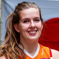 13-10-2018 JPN: World Championship Volleyball Women day 14, Nagoya<br /> Portraits Dutch Volleybal Team - Tessa Polder #20 of Netherlands