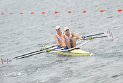 Eton. Great Britain. GBR JM2X Bow. Edward GRISEDALE and Joseph GUPPY, competing in the Junior Men's Double Sculls.  Eton Rowing Centre 2011 FISA Junior  World Rowing Championships. Dorney Lake, Nr Windsor. Thursday, 04/08/2011  [Mandatory credit: Peter Spurrier Intersport Images]