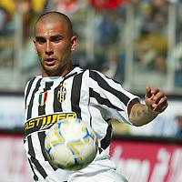 Parma 18/4/2004 Campionato Italiano Serie A <br />30a Giornata - Matchday 30 <br />Parma Juventus 2-2 <br />Marco Di Vaio (Juventus)<br /> Foto Graffiti