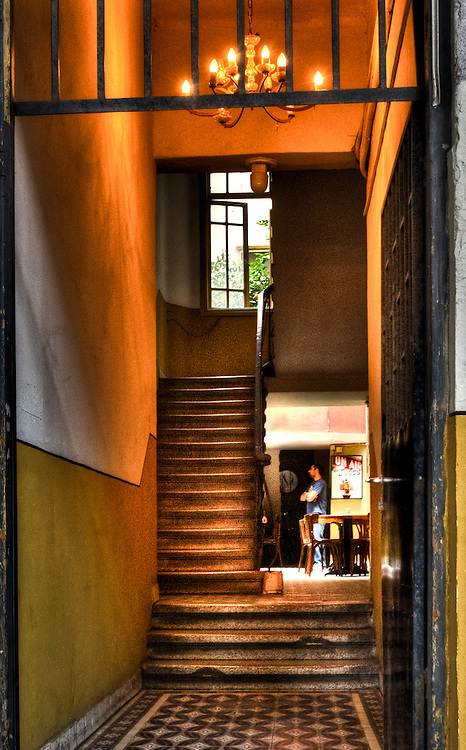 The Caffee in the Stairwell