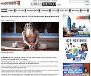 Aghori work on Indonesian site Koran Metro.com<br /> http://www.koranmetro.com/read/2014/03/15/1/5015/1/Waduhh.Kelompok.Kanibal.Tidur.Beralaskan.Mayat.Manusia