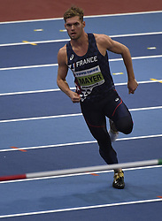 March 4, 2018 - Birmingham, Angleterre - BIRMINGHAM , UNITED KINGDOM  - MARCH 2 : Kevin Mayer of France pictured during heptathlon at The Athletic WIC Birmingham 2018 on March 2, 2018 in Birmingham , United Kingdom ,02/03/2018 (Credit Image: © Panoramic via ZUMA Press)