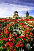 Montana Capitol building in Helena.
