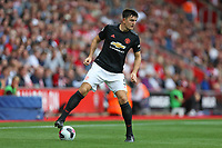 Football - 2019 / 2020 Premier League - Southampton vs. Manchester United<br /> <br /> Harry Maguire of Manchester United in action during the Premier League match at St Mary's Stadium Southampton  <br /> <br /> COLORSPORT/SHAUN BOGGUST