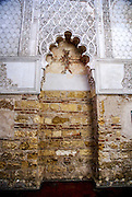 the ancient synagogue in the Jewish Quarter (Judios ), Cordoba, Andalucia, Spain