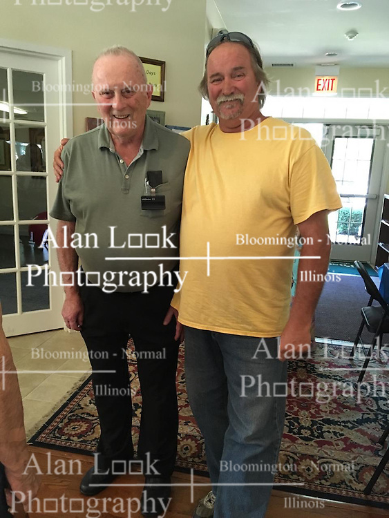 06 August 2016:   David Look turns 80 years old.  Family joins in the celebration at the clubhouse on Bond Circle in Naperville Illinois<br /> <br /> Taken by Lelanny.<br /> <br /> Dve & Roger