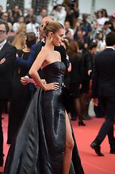 May 22, 2019 - Cannes, France - 72eme Festival International du Film de Cannes. Montée des marches du film ''Roubaix, une lumiere (Oh Mercy!)''. 72th International Cannes Film Festival. Red Carpet for ''Roubaix, une lumiere (Oh Merci!)'' movie.....239728 2019-05-22  Cannes France.. Wertmuller, Lina; Berry Capri, Noel (Credit Image: © L.Urman/Starface via ZUMA Press)