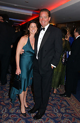 CHRISTIAN BEARMAN and his wife  NICOLA  the Boodles Boxing Ball in aid of the sports charity Sparks  organised by Jez lawson, James Amos and Charlie Gilkes held at The Royal Lancaster Hotel, Lancaster Terrae London W2 on 3rd June 2006.<br /> <br /> NON EXCLUSIVE - WORLD RIGHTS