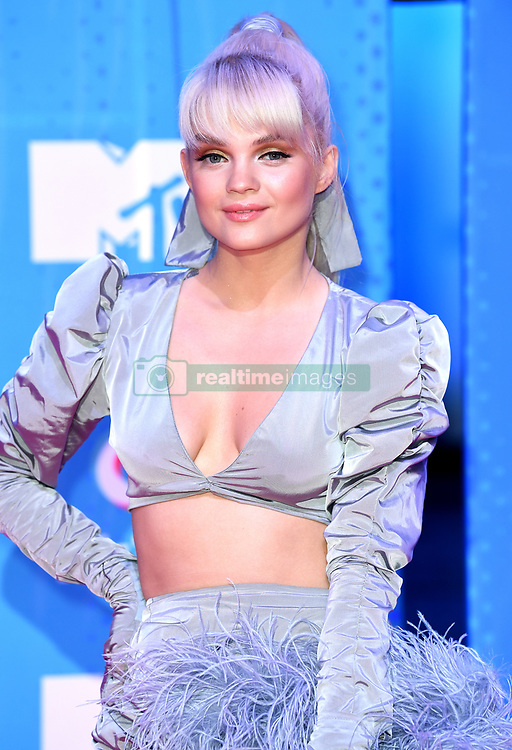 Margaret attending the MTV Europe Music Awards 2018 held at the Bilbao Exhibition Centre, Spain