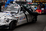 The launch of the 2009 Mongol Rally took place in Goodwood, England at Goodwood racetrack.