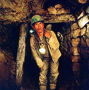 Portrait of a miner at the Potosi Mine, Potosi, Eastern Cordillera, Bolivia