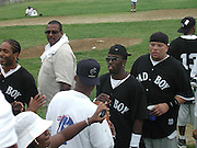 Sean Puffy Combs.Bad Boy vs. Rocafella Baseball Game.To benefit disadvantaged kids.Stony Park.Easthampton, NY.July 4th, 2001.Photo by Celebrityvibe.com..