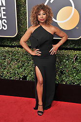 Tanika Ray at the 75th Golden Globe Awards held at the Beverly Hilton in Beverly Hills, CA on January 7, 2018.<br /><br />(Photo by Sthanlee Mirador)