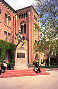 University of Southern California (USC ), Tommy Trojan, Los Angeles, California (LA)