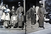 family portrait Japan ca 1940s
