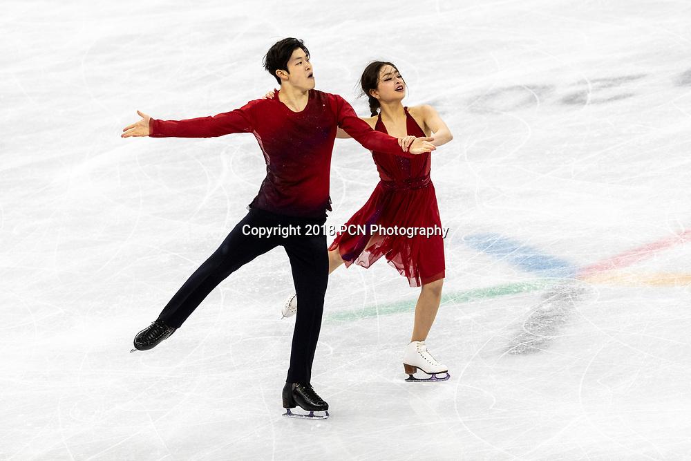Maia Shibutani/Alex Shibutani (USA) win the bronze medal in Figure Skating Ice Dance at the Olympic Winter Games PyeongChang 2018
