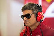 April 17, 2014 - Shanghai, China. UBS Chinese Formula One Grand Prix. Matteo Mattiacci, Ferrari team principal<br /> <br /> © Jamey Price / James Moy Photography