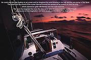 Shakti sailing into Tobago early one morning.<br /> Photo © nic bothma/asi