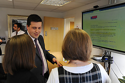 Employability Minister Jamie Hepburn visited the head offices of the Voluntary Action Fund (VAF) to open applications for the Workplace Equality Fund.<br /> <br /> The £500,000 fund will offer grants to private and third sector organisations to reduce employment inequalities, discrimination and barriers for minority ethnic people, women, disabled people and older workers.<br /> <br /> During the visit the Minister met staff from VAF, took a tour of the facility and received a demonstration of the online application system.<br /> <br /> (c) David Wardle | Edinburgh Elite media
