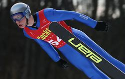 Rozle Zagar of SSK Costella Ilirija at Slovenian National Championship in Ski Jumping on February 12, 2008 in Kranj, Slovenia . (Photo by Vid Ponikvar / Sportal Images).
