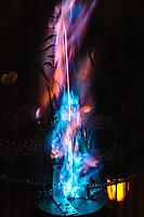 Colorful Flames - https://Duncan.co/Burning-Man-2021