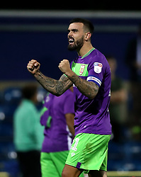 Bristol City's Marlon Pack celebrates their victory at the end of the Sky Bet Championship match at Loftus Road, London.
