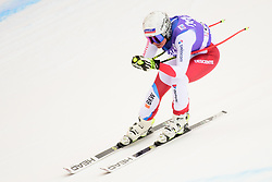 January 19, 2018 - Cortina D'Ampezzo, Dolimites, Italy - Corinne Suter of Switzerland competes  during the Downhill race at the Cortina d'Ampezzo FIS World Cup in Cortina d'Ampezzo, Italy on January 19, 2018. (Credit Image: © Rok Rakun/Pacific Press via ZUMA Wire)