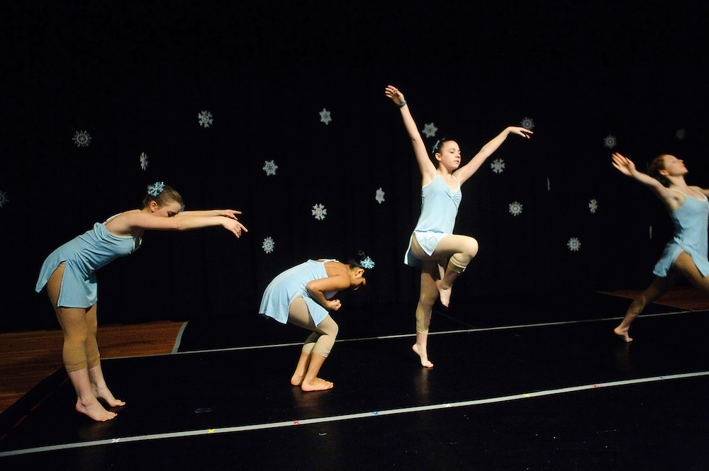 (photo by Matt Roth)..BLUE CHRISTMAS.Inertia Performing Arts and Expressions in Motion's 2009 Winter Wonderland performance held at the University of Baltimore's Langsdale Auditorium Saturday, December 12, 2009.