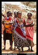 Samburu Women<br /> Outside Samburu National Reserve, Kenya<br /> September 2012