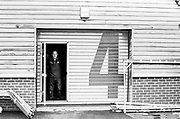 Caversham. Berkshire. UK<br /> Logistics Manager, Maurice HAYES, gazes out from the repair bay, 2016 GBRowing U23 Trials at the GBRowing Training base near Reading, Berkshire.<br /> <br /> Monday  11/04/2016 <br /> <br /> [Mandatory Credit; Peter SPURRIER/Intersport-images]