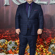 Josh Gad attend European Premiere of Frozen 2 on 17 November 2019, BFI Southbank, London, UK.
