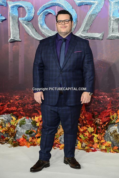 Josh Gad attend European Premiere of Frozen 2 on 17 November 2019, BFI Southbank, London, UK.