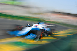 March 16, 2019 - Melbourne, Victoria, Australia - George Russell (63) of Great Britain drives the ROKiT Williams Racing FW42 during qualifying for the Australian Formula 1 Grand Prix at Albert Park on March 16, 2019 in Melbourne, Australia  (Credit Image: © Morgan Hancock/NurPhoto via ZUMA Press)