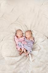 Elizabeth and Caroline's Newborn Session
