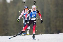 Marte Olsbu Roeiseland (NOR) during Women 15km Individual at day 5 of IBU Biathlon World Cup 2018/19 Pokljuka, on December 6, 2018 in Rudno polje, Pokljuka, Pokljuka, Slovenia. Photo by Ziga Zupan / Sportida