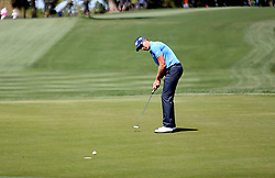 March 10, 2017 - Palm Harbor, Florida, U.S. - DOUGLAS R. CLIFFORD   |   Times.Henrik Stenson putts for par at the fifth hole while playing in the first round of the Valspar Golf Championship at Innisbrook Resort and Golf Club's Copperhead Course on Thursday (3/9/17) in Palm Harbor. (Credit Image: © Douglas R. Clifford/Tampa Bay Times via ZUMA Wire)