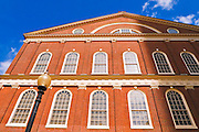 Faneuil Hall on the Freedom Trail, Boston, Massachusetts