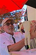 West Reading Art Fest, Sculptor Richard Fredrick, Berks Co., PA