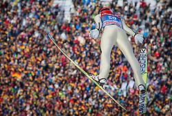 01.01.2013, Olympiaschanze, Garmisch Partenkirchen, GER, FIS Ski Sprung Weltcup, 61. Vierschanzentournee, Training, im Bild Felix Schoft (GER) // Felix Schoft of Germany during practice Jump of 61th Four Hills Tournament of FIS Ski Jumping World Cup at the Olympiaschanze, Garmisch Partenkirchen, Germany on 2013/01/01. EXPA Pictures © 2012, PhotoCredit: EXPA/ Juergen Feichter
