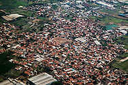 Jakarta seen by the air.<br /> The city of Jakarta is the capital city of Indonesia and has about 10 million residents.