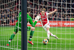 13-03-2019 NED: Ajax - PEC Zwolle, Amsterdam<br /> Ajax has booked an oppressive victory over PEC Zwolle without entertaining the public. Daley Blind scored the winning goal five minutes before the end of the Johan Cruijff Arena: 2-1.